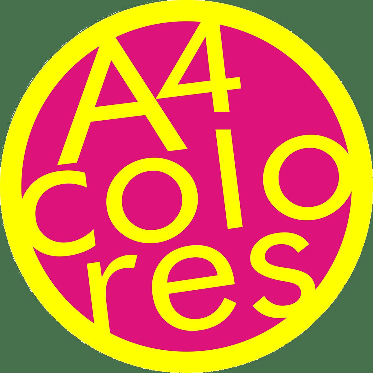 A4 colores copistería y papelería