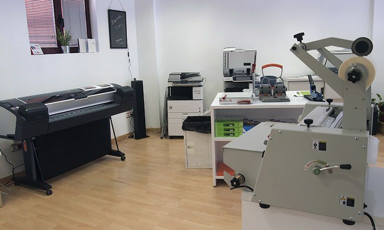 Imprenta digital en el Casar